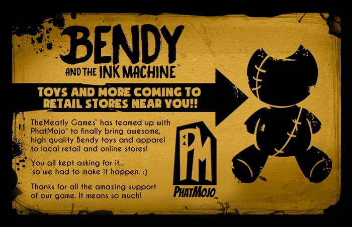 bendy and the ink machine themeatly