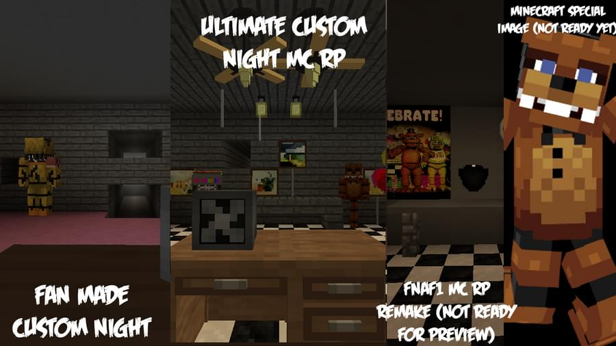FNAF1 MC RP Remake Coming August 8th! (We are doing 4 Specials for