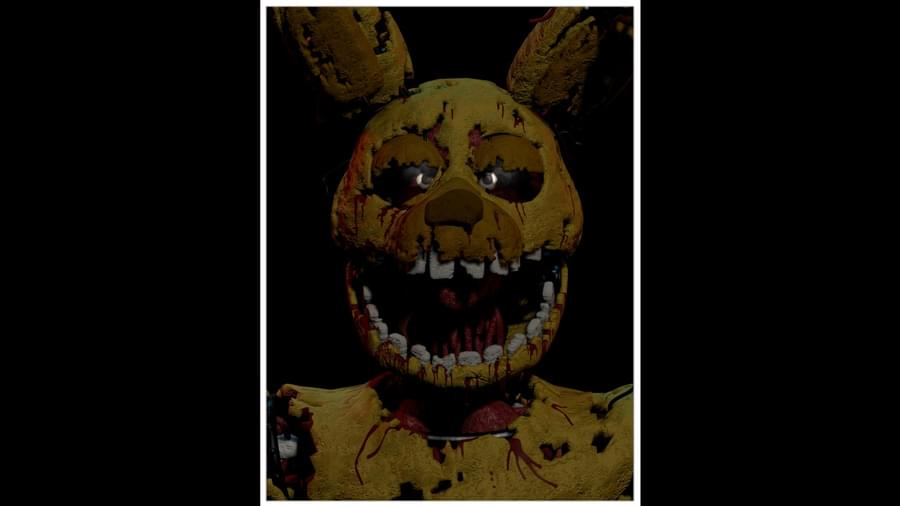 New ZZ Character! Stylized Springtrap Cuts you in half with