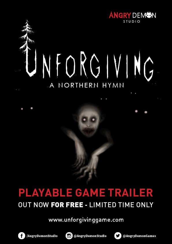 Unforgiving: A Northern Hymn is a Swedish survival horror game from Skövde-based independent game studio; Angry Demon Studio.