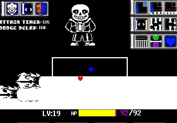 Sans Simulator by G_Sluke32 - Game Jolt