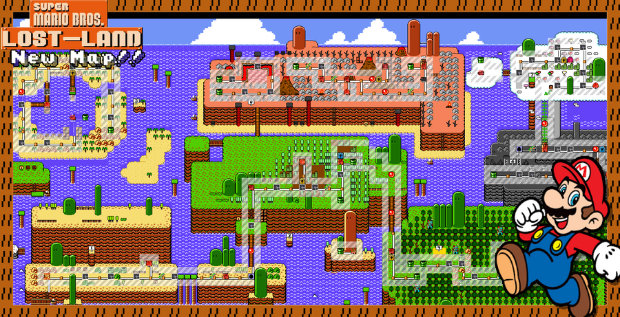 The New Map Design And Its New Things Super Mario Bros Lost