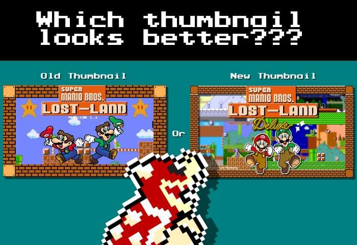 Super Mario Bros - Lost Land by Bloodser - Game Jolt