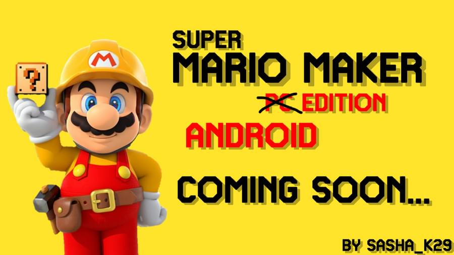 Super Mario Maker PC Edition by Sasha_K29 - Game Jolt