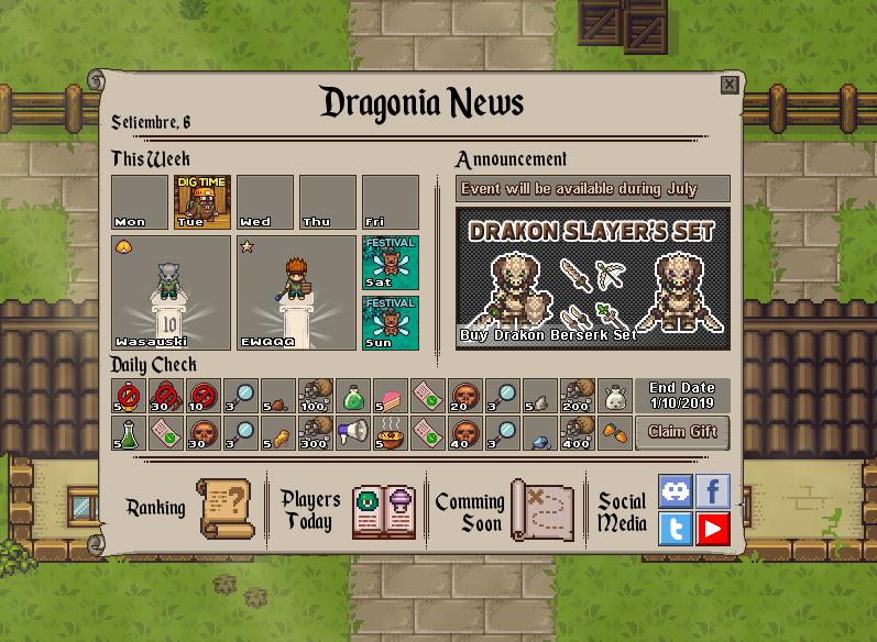 DarkStory Online - MMORPG by BraveWolf - Game Jolt