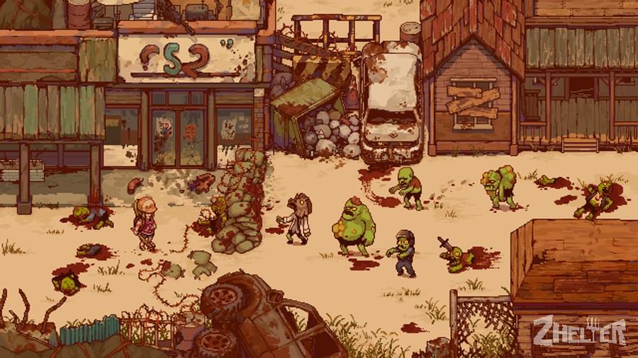 Zelter Game, gameplay.