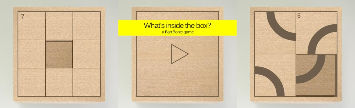 what 39 s inside the box by bart bonte bontegames on game jolt. Black Bedroom Furniture Sets. Home Design Ideas