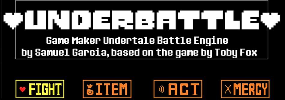 Underbattle: Game Maker Undertale Battle Engine by Samuel Garcia