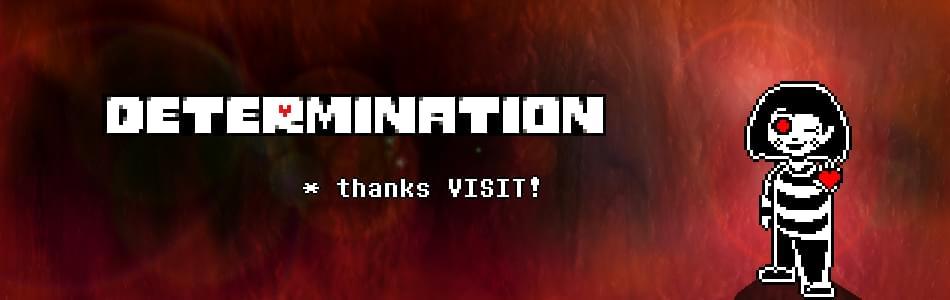 Undertale: Determination by geek2games - Game Jolt