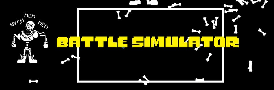 Undertale Battle Simulator (Original) by gomaproi - Game Jolt
