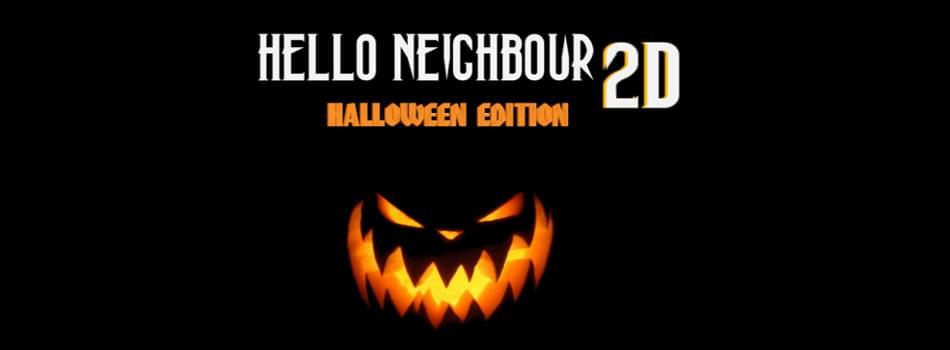 hello neighbour 2d halloween edition by shuibleopard white leopard