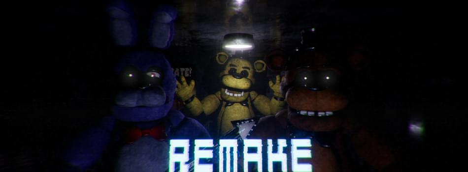 five nights at freddy s remake by ue4 fnaf fangame dev