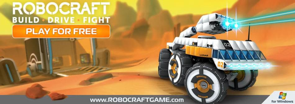 Update: Robocraft gives you wings! on Game Jolt