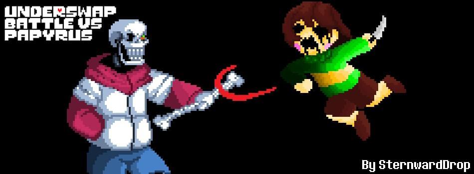 TS!Underswap - Battle vs Papyrus (Unofficial) by Team