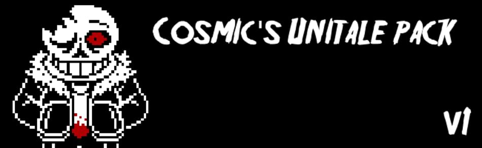 Cosmic's Unitale Pack by Blue142 - Game Jolt