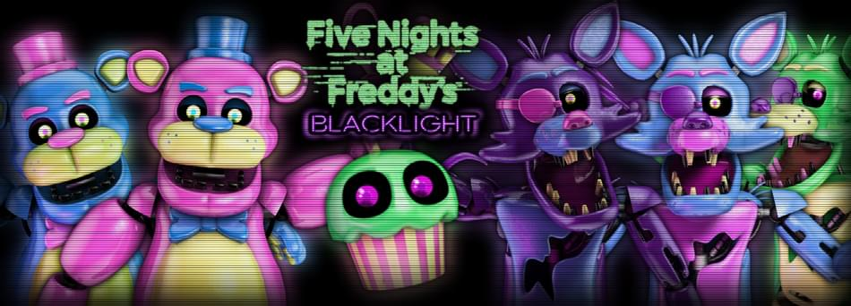 five nights at freddy s blacklight by slipstreamstudios