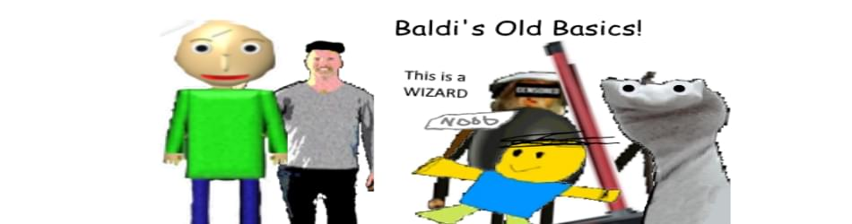 Baldi S Old Basics Textures And Code Mod By