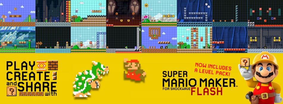 Super Mario Maker for Shockwave Flash by Formula Fanboy