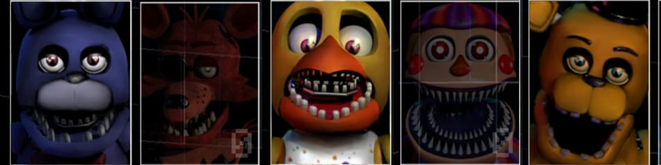 Ultimate Custom Night - Unwithered Animatronics(Mod) by