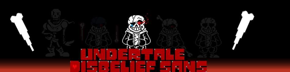 TD!Undertale:Disbelief Sans  by Team Darkness Krzysiu - Game Jolt
