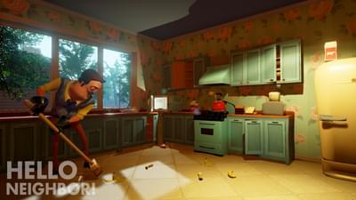 Hello Neighbor Alpha 1 Remake By Foxybot3000 Game Jolt
