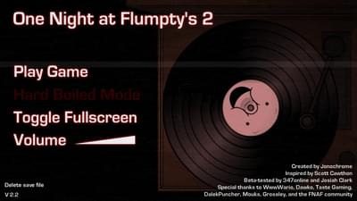 One Night At Flumpty S 2 By Jonochrome Game Jolt