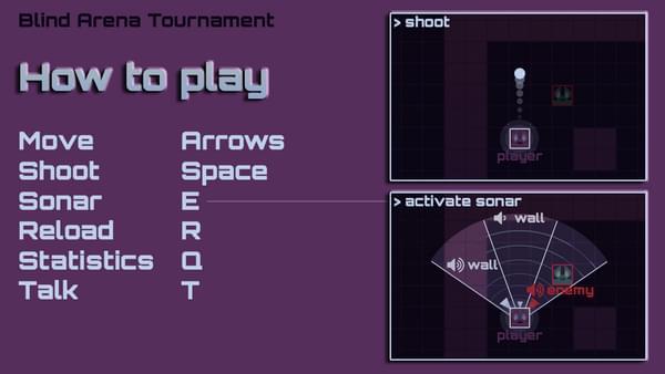 Blind arena tournament
