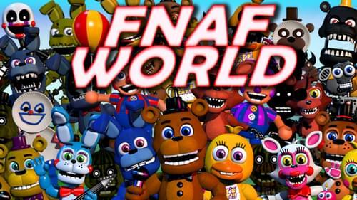 fnaf world by realscawthon realscawthon on game jolt