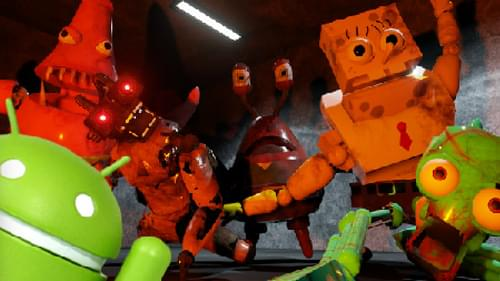 Five Nights At The Chum Bucket Android J D Gamess Fan Port By J D Games Jdgamesandroidapps On Game Jolt