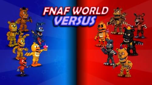 Fnaf World Roster