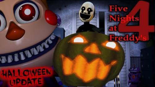 fnaf 4 halloween edition mod apk