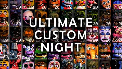Ultimate Custom Night by realscawthon - Game Jolt