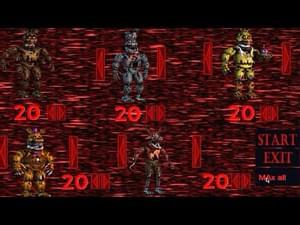 Five Nights at Freddy's 4: Custom Night by JimmyGGames