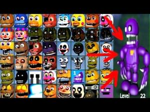 Nightmare Purple Guy (Fnaf World Mod) by kingofbutsGaming