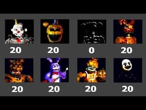 Five Nights at Freddy's: Custom Game by JimmyGGames - Play Online