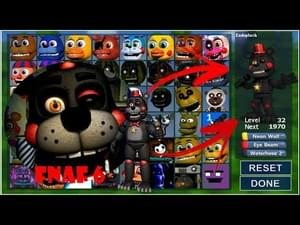 Lefty FNAF 6 In Fnaf World (Mod) by ZBonnieXD - Game Jolt