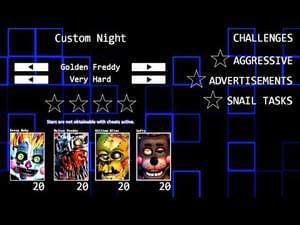 Five Nights at Freddy's 6 Custom Night (Fan-Made) by Designumm
