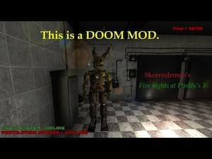 Five Nights at Freddy's 3 Doom Mod by Skornedemon - Game Jolt