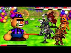 FNaF World Redacted by Graris B  Auris - Game Jolt