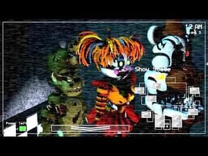 Salvaged Animatronics in FNaF 1 MOD by Pelusathedeveloper - Game Jolt